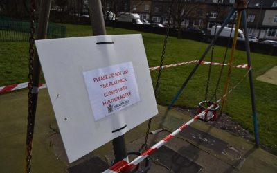 Playground remains shut due to Covid Restrictions