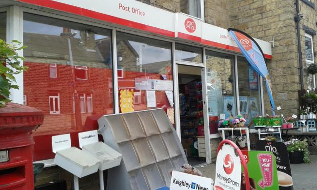 Stamp of approval for Riddlesden Post Office